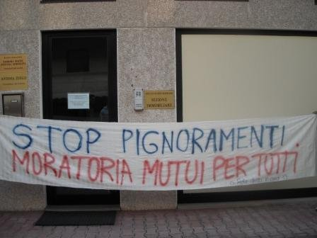 stop pignoramenti, moratoria mutui per tutt@