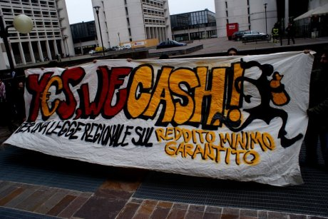 Yes we cash striscione