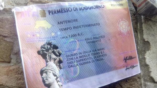 Padova - Antenore primo profugo della città   Global Project