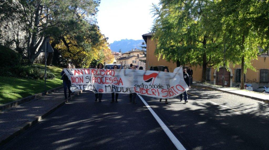 Trento - L'antifascismo non si processa