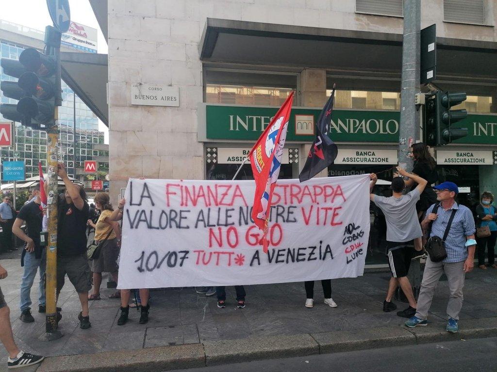 No G20 iniziativa Intesa Milano
