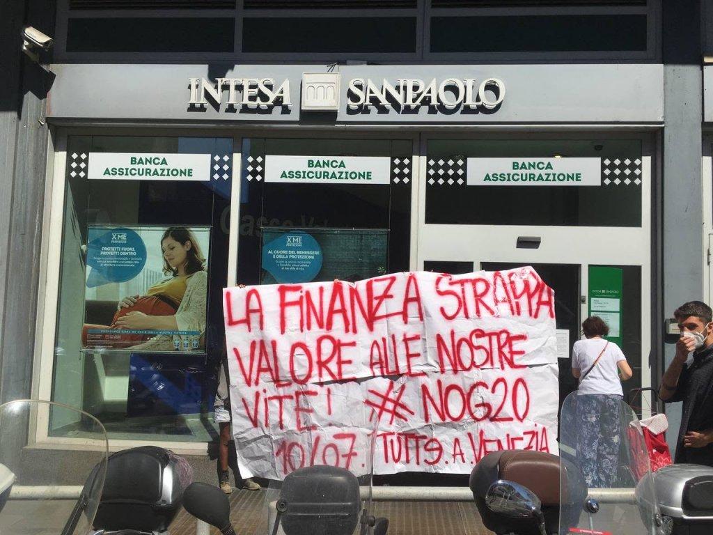 No G20 iniziativa Intesa Roma