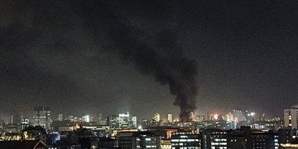 Ankara, esplosione vista dall'alto