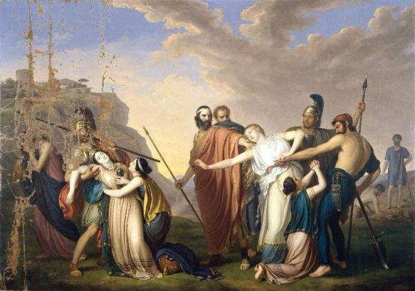 Conflict essay on antigone