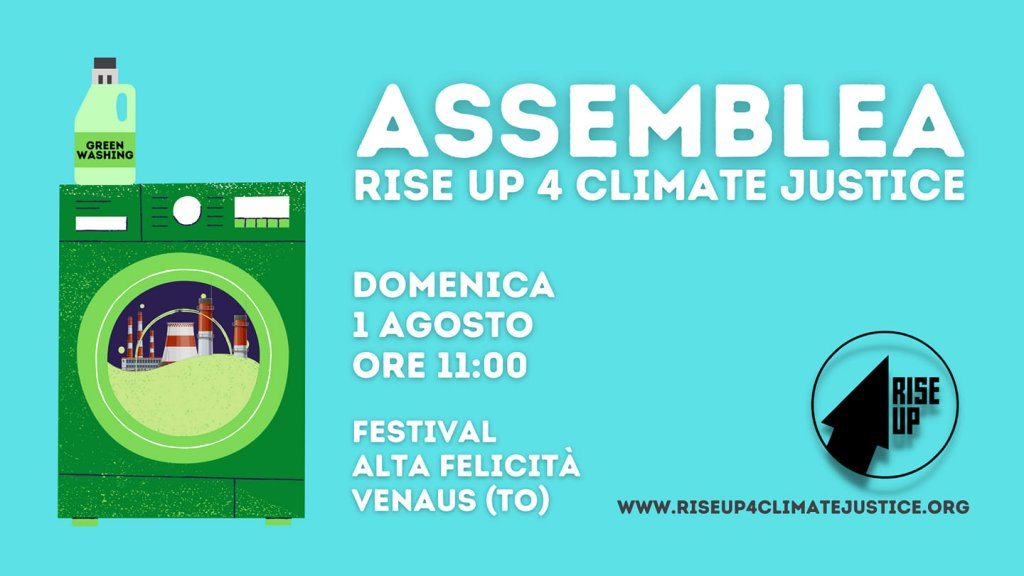 Rise Up 4 Climate Justice