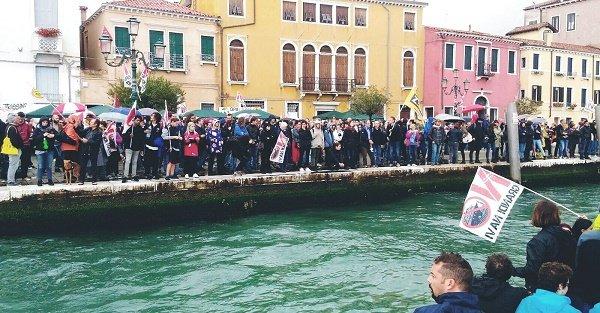 24.9.17 Venezia - No Grandi Navi! Manifestazione per la giustizia ambientale