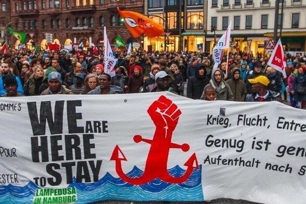 Hamburg Lampedusa