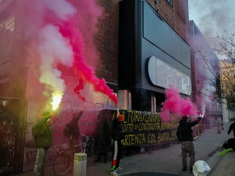 Lavoratori spettacolo Milano