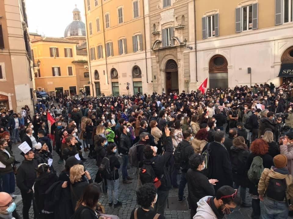 Lavoratori spettacolo Roma