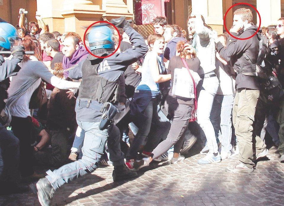 Bologna 17.05.13 - Processo Bankitalia: in piazza per democrazia e giustizia