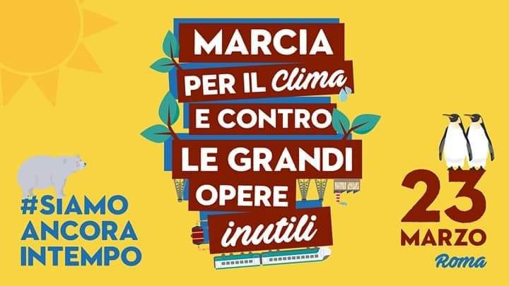 marcia per il clima e contro le grandi opere