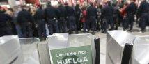 Sciopero Spagna
