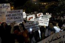 Manifestazione a Tel Aviv