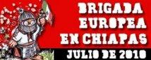 Brigata Europea n Chiapas