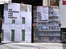 Venezia - No housing for people, No art for the audience