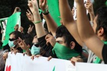 Iran - proteste