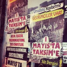 Istanbul - May Day Countdown: Taksim calls, Turks reply