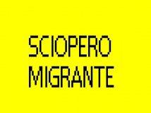 Sciopero migrante
