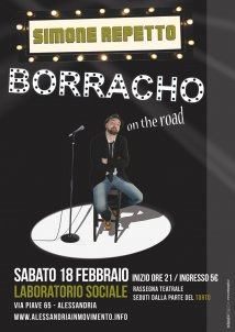 Alessandria - Simone Repetto in Borracho on the road