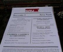 Cartellone cantiere 'SRU'