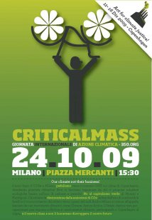 Critical mass a Milano