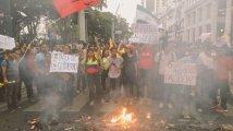 Ecuador - Continua la rivolta e Moreno fugge a Guayaquil