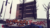 GMO-Free Europe: activists occupy EFSA headquarters