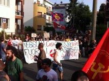 parma - manifestazione antifascista chiudere casa pound