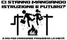 Logo autoriduzione in mensa