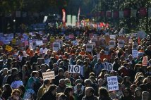 Spagna - Un week end di proteste