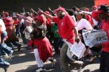 Sudafrica - Proteste