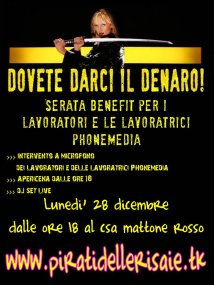 Solidarieta' a phonemedia in lotta!