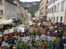 """Lo sciopero """"climatico"""" blocca l'Italia"""
